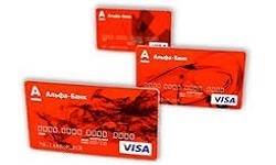 Дебетовые карты альфа банка с пакетом услуг оптимум